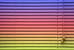 Rainbow blind background Royalty Free Stock Photos