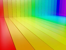 Rainbow blocks Royalty Free Stock Image