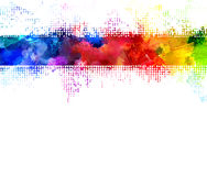 Rainbow blots Royalty Free Stock Photography