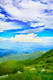 Rainbow in blue sky Royalty Free Stock Image