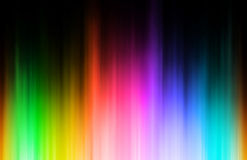 Rainbow blur Stock Photos