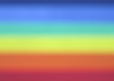 Rainbow Blur Background Stock Images