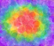 Rainbow blur background Stock Image