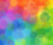 Rainbow blur Royalty Free Stock Images