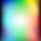 rainbow blur background with grid of dots Stock Photo