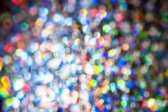 Rainbow blur bokeh background Royalty Free Stock Photos