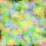 Rainbow blur bokeh background. Stock Image