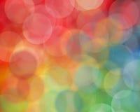 Rainbow blur Stock Image