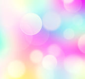 Rainbow blur Easter background wallpaper. Royalty Free Stock Photography