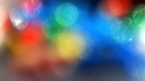 Rainbow blur flare background bokeh Stock Image