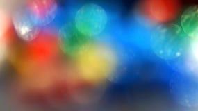 Rainbow blur flare background bokeh Stock Image