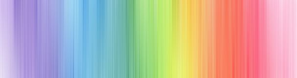 Rainbow Blurred Background. Royalty Free Stock Photos