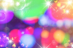 Rainbow bokeh abstract light Stock Photos
