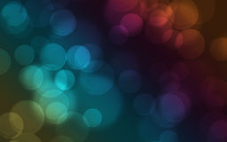Rainbow Bokeh Background Stock Images