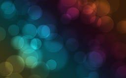 Rainbow Bokeh Background vector illustration