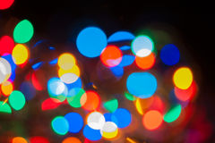 Rainbow Bokeh Background Stock Photography
