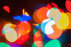 Rainbow Bokeh Background stock photos