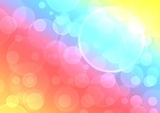 Rainbow Bokeh Bright Royalty Free Stock Photography