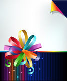 Rainbow bow Royalty Free Stock Photos