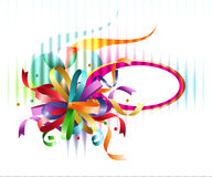 Rainbow bow background Stock Photo