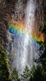 Rainbow at Bridalveil Falls Royalty Free Stock Image