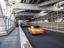 Inside Rainbow Bridge, Tokyo, Japan. The Rainbow Bridge レインボーブリッジ Reinbō Burijji is a suspension bridge royalty free stock photography