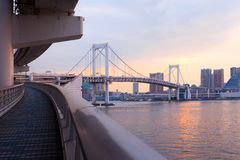 Rainbow Bridge Stock Photography