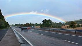 Rainbow Bridge Royalty Free Stock Photography