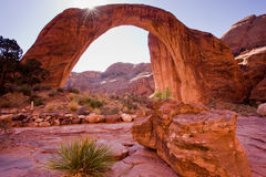 Rainbow Bridge Royalty Free Stock Images