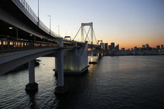 Rainbow Bridge, Japan Stock Image