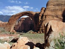 Rainbow Bridge National Monument Stock Photos