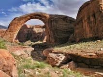 Rainbow Bridge. National Monument Stock Images