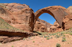 Rainbow Bridge National Monument, Utah, USA. Stock Photography