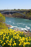 Rainbow Bridge of Niagara Falls Royalty Free Stock Photos