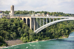 Rainbow Bridge of Niagara Falls Royalty Free Stock Images