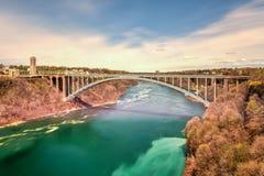 Rainbow Bridge - Niagara Falls, New York Royalty Free Stock Photography