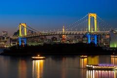 Rainbow bridge Stock Photography