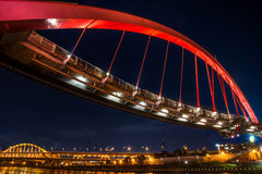 Rainbow Bridge in Taipei Royalty Free Stock Image