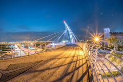 Rainbow bridge in taiwan Royalty Free Stock Photography