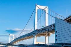 Rainbow Bridge in Tokyo Stock Photo