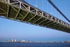 Rainbow Bridge,Tokyo Bay Stock Image