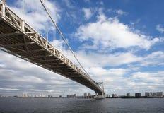 Rainbow Bridge,Tokyo Bay Stock Photography