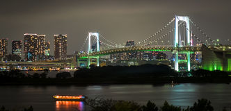 Rainbow Bridge in Tokyo Royalty Free Stock Image