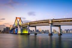 Rainbow Bridge in Tokyo Royalty Free Stock Photo
