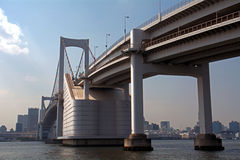 Rainbow Bridge, Tokyo, Japan Royalty Free Stock Photography