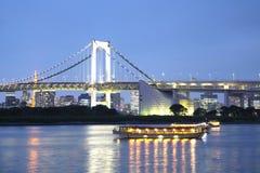 Rainbow bridge, Tokyo, Japan Stock Image