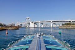 The Rainbow bridge in Tokyo, Japan Stock Photos
