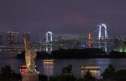 Rainbow Bridge in Tokyo Stock Image