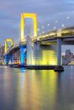 Rainbow bridge Tokyo Stock Photos