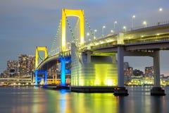 Rainbow bridge Tokyo Royalty Free Stock Image